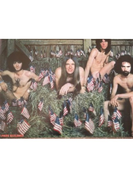 Grand Funk - Poster From Grand Funk We're An American Band Japanese Album - Replica