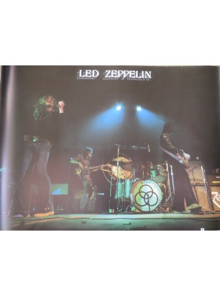 Led Zeppelin - Poster From Led Zeppelin Physical Graffiti Japanese Album - Replica