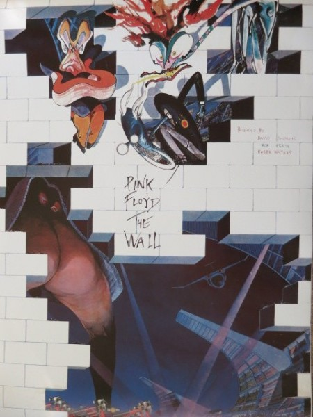Pink Floyd - Poster From Pink Floyd The Wall Japanese Album - Replica
