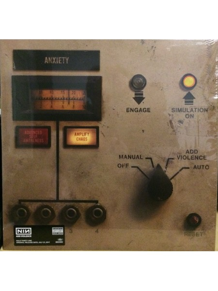 Nine Inch Nails..... (Electronic) - Add Violence (EP); /2017; Europe; S/S - 860255789795