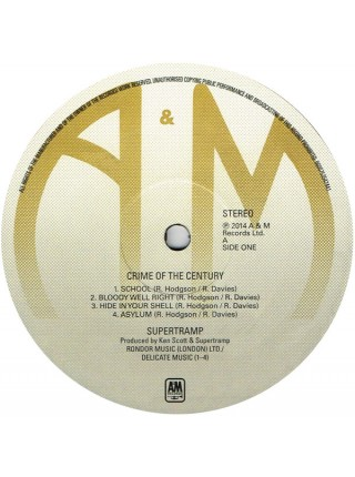 860075354744---Supertramp – Crime Of The CenturyA&M Records – 0600753547441LP1POPTOP08.12.20140:00:00USM/Universal(UMGI)S/S
