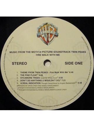 "9149812--Angelo Badalamenti – Twin Peaks - Fire Walk With MeWarner Bros. Records – 081227940294""19.05.2017180 Gram Black Vinyl1WM12"""" винил/33. АльбомFUL""S/S"