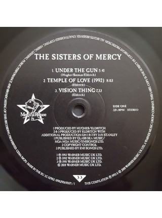 """9165881--The Sisters Of Mercy – Greatest Hits Volume One - A Slight Case Of OverbombingMerciful Release – 0190295695071""""15.06.2018180 Gram Black Vinyl/Gatefold2WM12"""""""" винил/33. АльбомFUL""""S/S"""