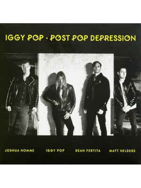Iggy Pop.....(Punk) - Post Pop Depression; 2016/2016; Europe; S/S - 860254777822