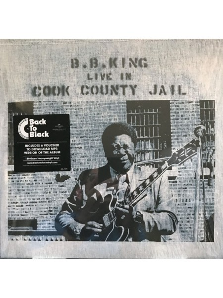 B.B. King...M - Live In Cook County Jail; 1971/2015; Europe; S/S - 860254743797