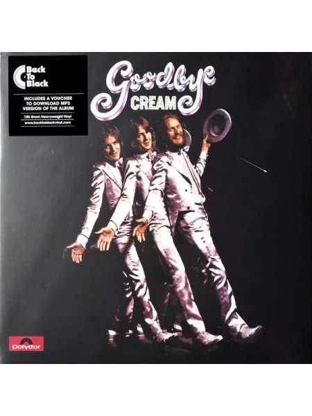 Cream (Blues Rock) - Goodbye; 1969/2015; Europe; S/S - 860075354847