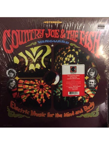 Country Joe & The Fish.....(Rock) - Electric Music For The Mind And Body; 1967/2018; Europe; S/S - 888807203017