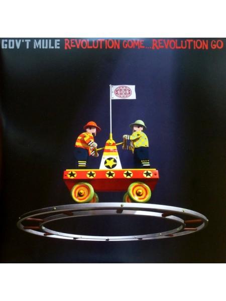 Gov't Mule....Rock, Blues - Revolution Come...Revolution Go; 2017/2017; Europe; S/S - 888807202744