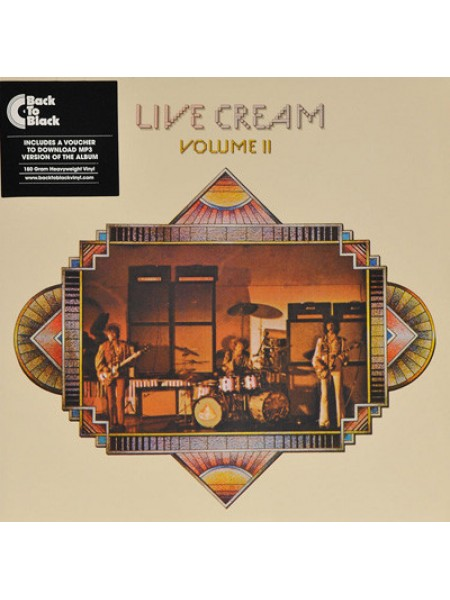 Cream (Blues Rock) - Live Cream Vol.2; 1972/2015; Europe; S/S - 860075354849