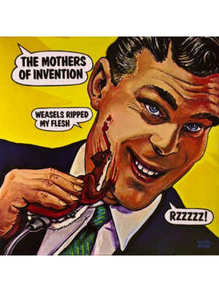 Frank Zappa....Prog Rock..M - Weasels Ripped My Flesh; 1970/2016; Europe; S/S - 882430238431