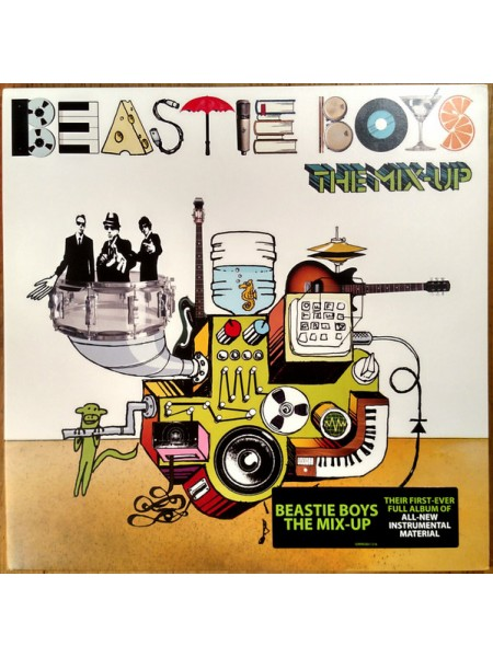Beastie Boys....Hip Hop..♫ - The Mix-Up; 2007/2007; Europe; S/S - 8509995001121