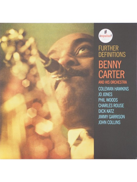 Benny Carter - Further Definitions; 1962/2019; Europe; S/S - 860257746424