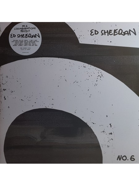 Ed Sheeran.....Vocal..♫ - NO.6 COLLABORATIONS PROJECT; 2019/2019; Europe; S/S - 9171919