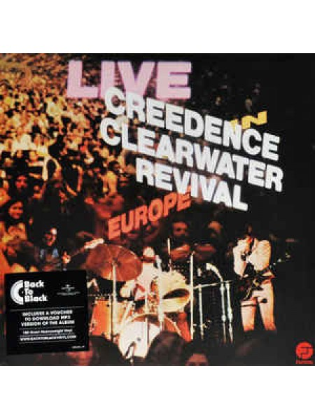 Creedence Clearwater Revival...Classic Rock..M - Live In Europe; 1971/2016; Europe; S/S - 888807239808