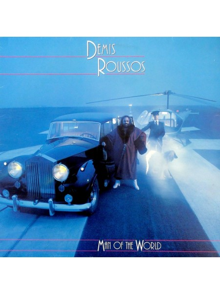 Demis Roussos....♫ - Man Of The World; 1980/1980; Holland; NM/VG+ - 500210