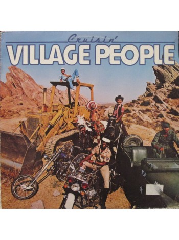 Village People - Cruisin' ; Arrival Records; Sweden; NM/VG+; 1978 /1978 - 122987