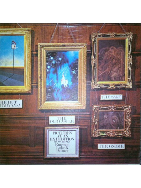 Э-Emerson, Lake & Palmer - Pictures At An Exhibition; Russia; NM/NM - 22184