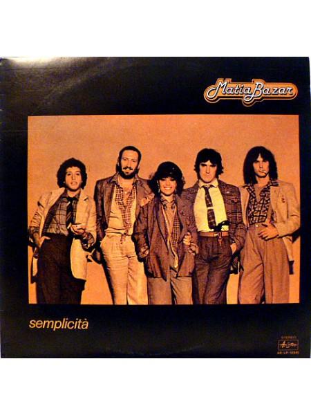 Matia Bazar....Europop..M - Semplicità; 1978/1978; Ariston; NM/VG+ - 122823