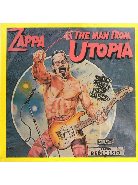 ф-Frank Zappa - The Man From Utopia; Russia; NM/NM - 22310