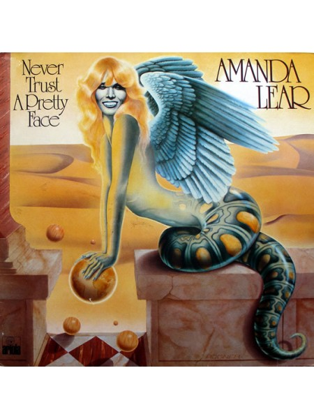 Amanda Lear....Disco..♫ - Never Trust A Pretty Face; 1979/1979; Germany; NM/VG+ - 500202