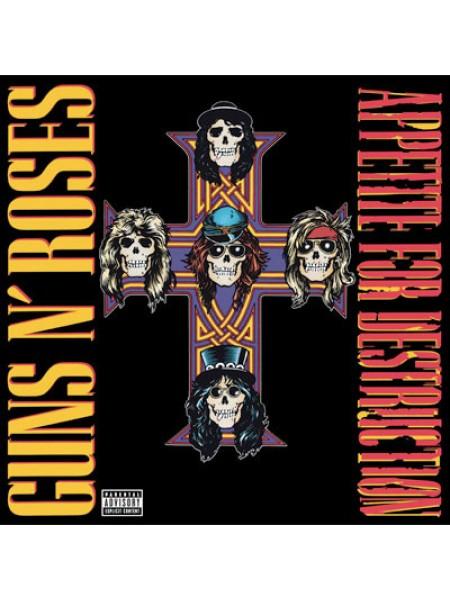 Guns N' Roses....Hard Rock..M - Appetite For Destruction; Geffen; S/S; Europe; 1987/2001 - 8720642414811