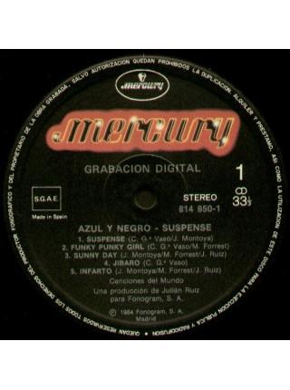 Azul Y Negro - Suspense (alb); 1984/1984; Spain; NM/VG+ - 500174