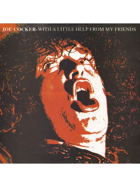 Джо-Joe Cocker - With A Little Help From My Friends; Russia; NM/NM - 22207