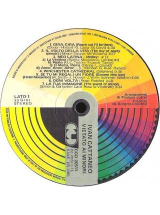 Ivan Cattaneo (Italo-Disco) - Vietato Ai Minori; 1986/1986; Italy; VG+/VG+ - 500066