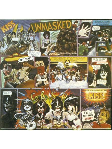 Кис-Kiss - Unmasked; Russia; NM/VG+ -22218