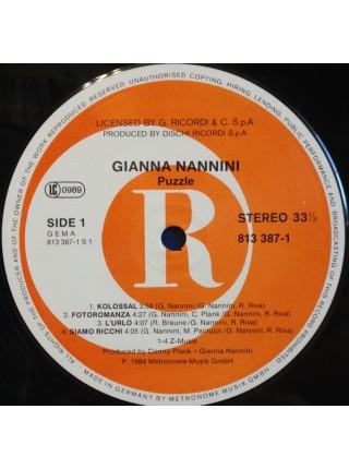 Gianna Nannini - Puzzle; 1984/1984; Germany; NM/VG+ - 500087