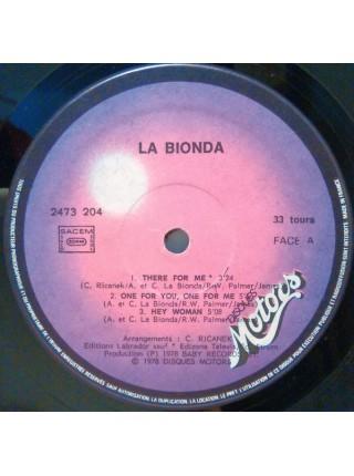 La Bionda..M - La Bionda; 1978/1978; France; VG+/NM - 500198