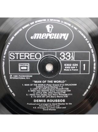 Demis Roussos....♫ - Man Of The World; 1980/1980; France; VG+/VG - 500209