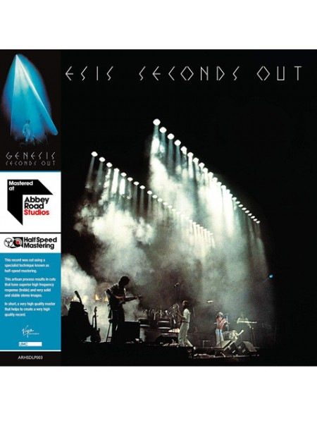 Genesis....Prog Rock..♫ - Seconds Out (Half Speed Master); UMC/Virgin; S/S; Europe; 1977/2019 - 8602577464591